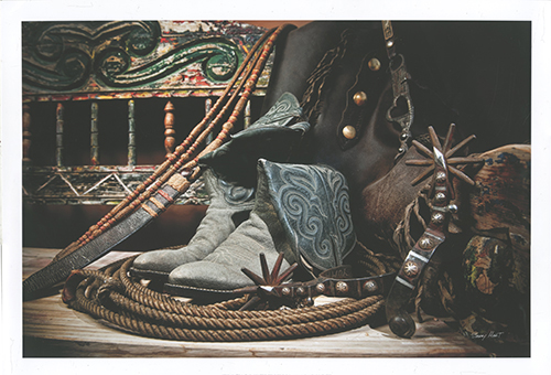 TC's Boots and Yuma Spurs (color)