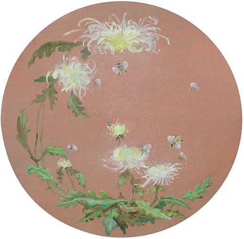 Chrysanthemum Chinoiserie