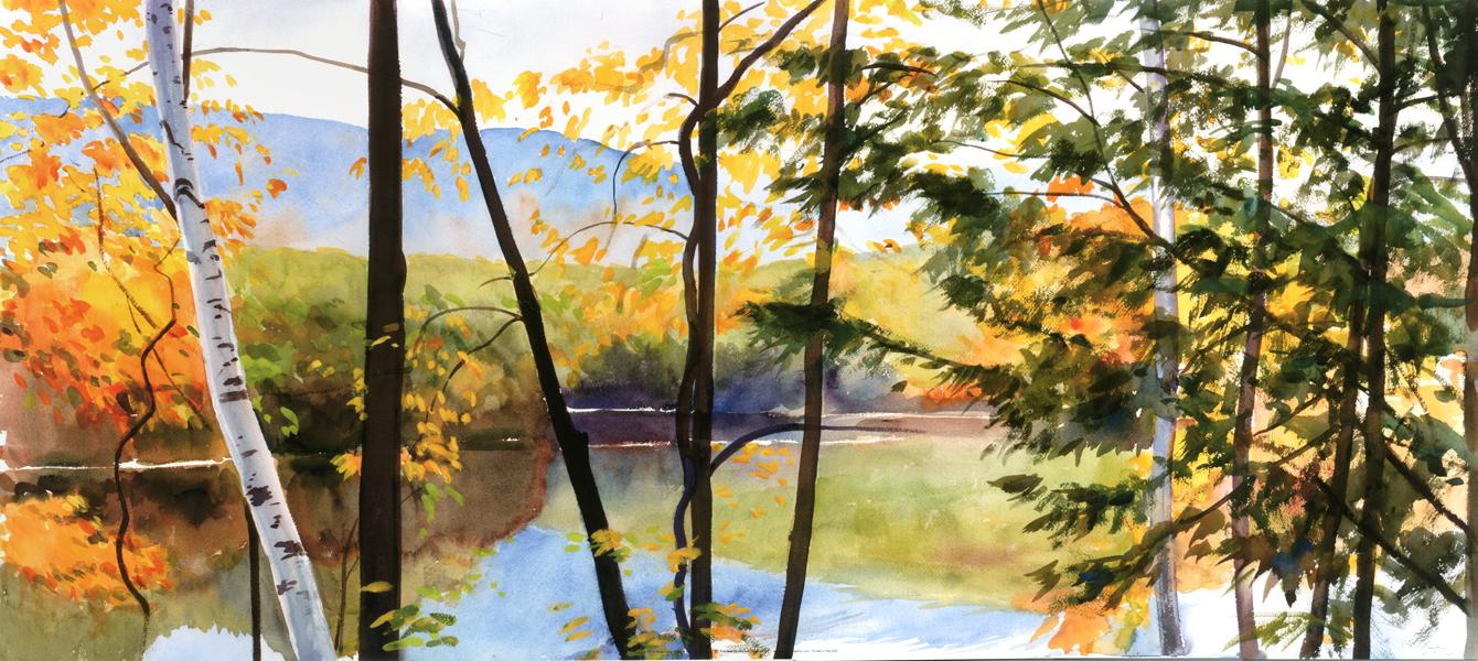 Autumn Lake IV