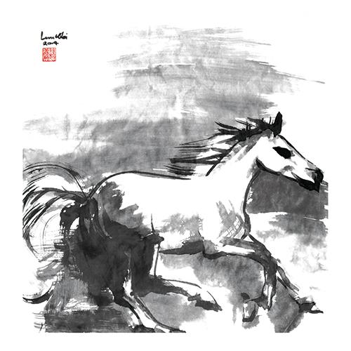 B&W Horses V