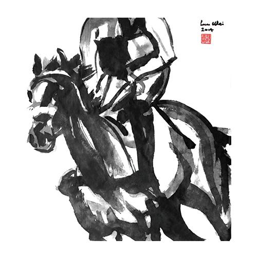 B&W Horses II
