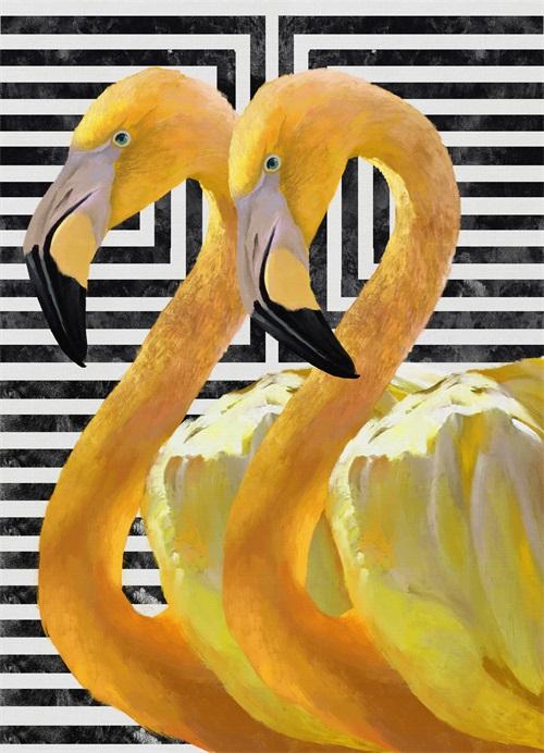 Funky Flamingo I