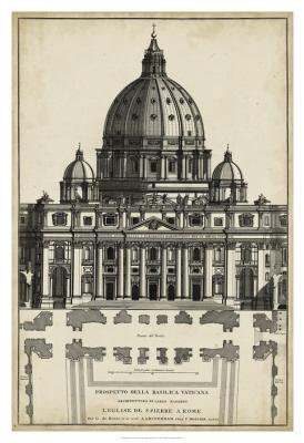 Basilica At The Vatican