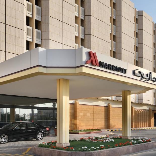 Marriott Courtyard Hotel in Riyadh