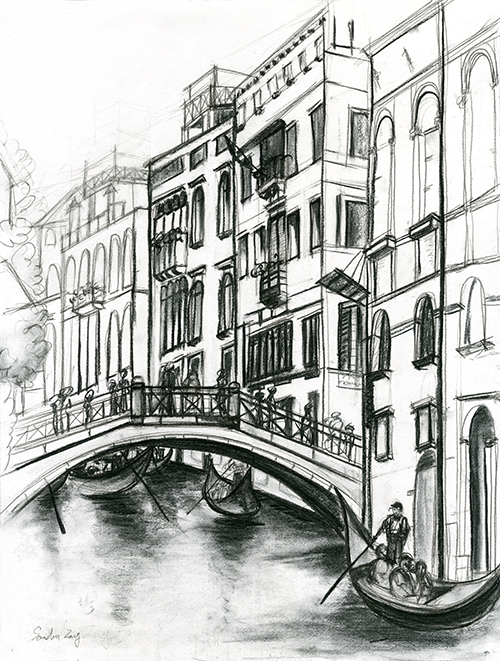 Architectural Sketches IV