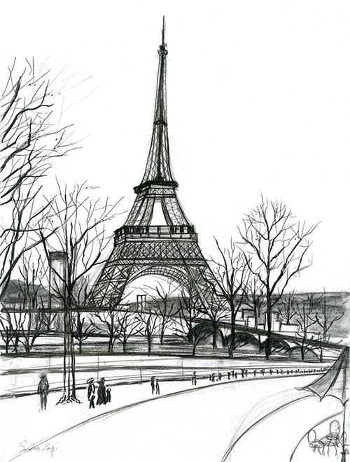 Architectural Sketches VI