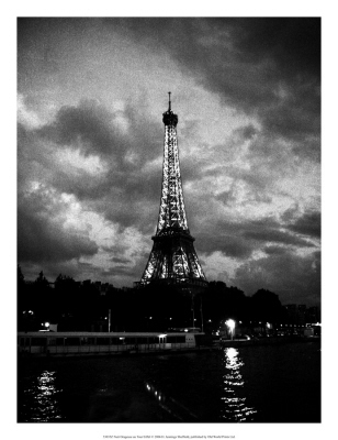 Nuit Orageuse au Tour Eiffel I