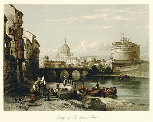Bridge of St. Angelo, Rome