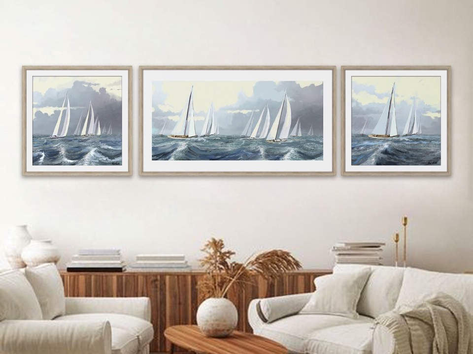 Soothing Seascape To<br> Up Your Home Décor Game