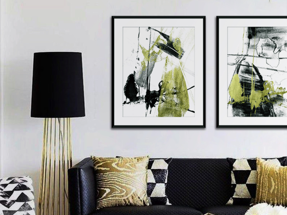 Charming Abstract Art<br> That You'll Fall In Love With!