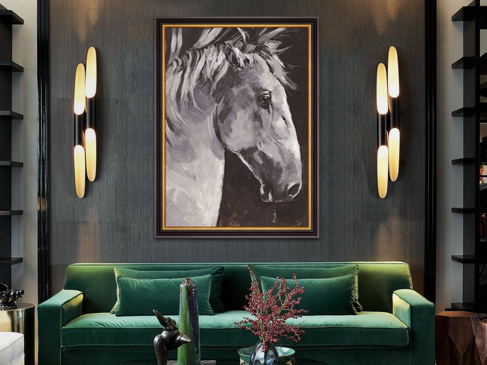 Perk Up Your Walls<br> With These Galloping Horses!